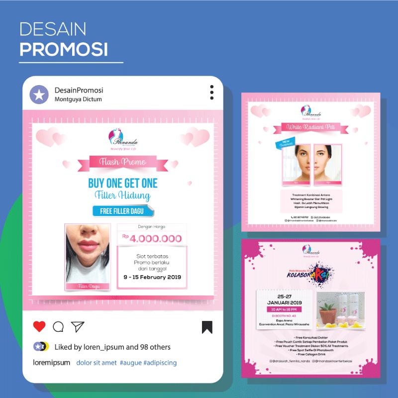 Jasa Desain Promosi Konten Instagram Murah Jakarta